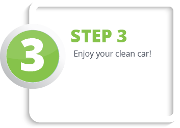 Enjoy your clean car!